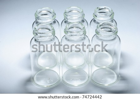 small bottle - stock photo