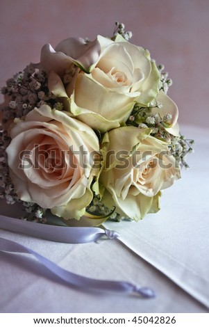 Small bouquet made of rose