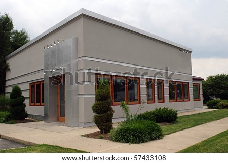 Small Business Building - stock photo