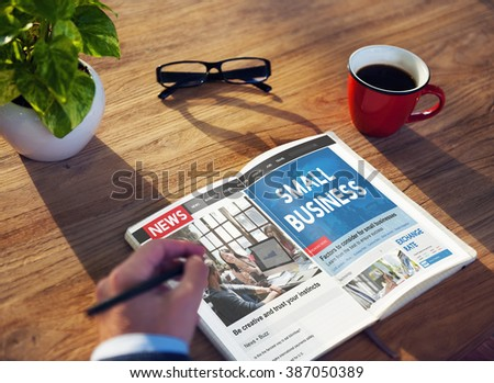 Small Business Niche Market Startup Product Ownership Concept - stock photo