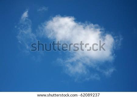 small cloud - stock photo