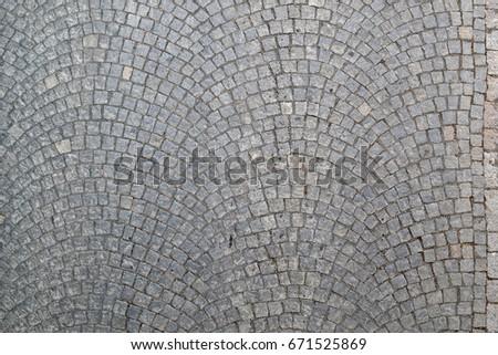 small cobblestone pavers texture background - Cobblestone Pavers