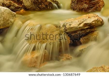 Small Creek. - stock photo