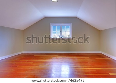 Small cute old house in Tacoma, WA - stock photo