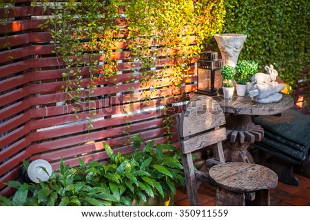 Small Garden - stock photo