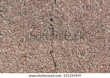 small granite stone floor or wall background texture - stock photo