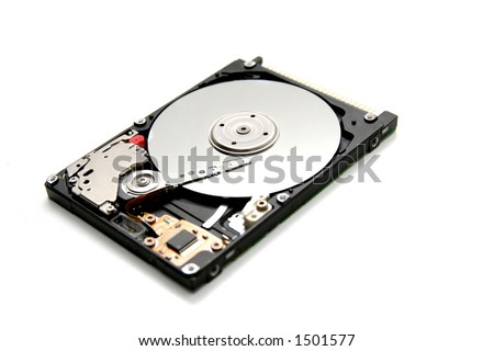 Small Hard Drive - stock photo