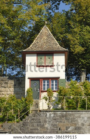 small house in Rapperswil, Switzerland