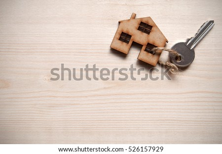 Small house with key