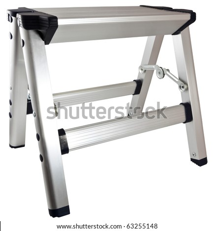 Small Household Aluminum Step Stool Ladder