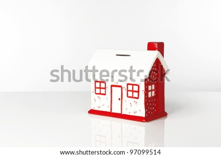 small model house box to save up all your money