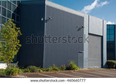 Small Modern Warehouse Building Stock Photo 460660777 Shutterstock