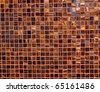 small mosaic tiles background - stock photo