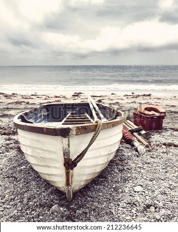 Old fishing boat stock images royalty free images for Old fishing boat