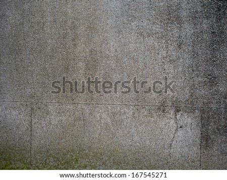 Small old stone wall - texture - stock photo