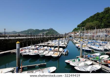 small port - stock photo