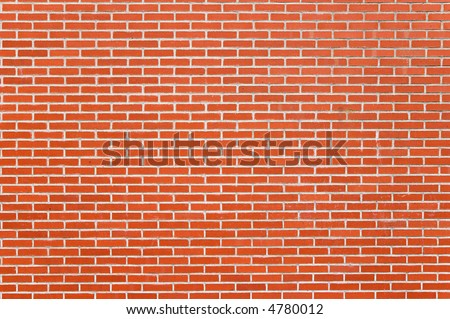small red brick wall texture