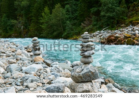 Folgefonna stock photos royalty free images vectors for Floating rock norway