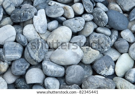 small round rock background - stock photo