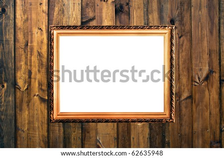 Small Russian Style Vintage Elegant Frame Stock Photo Royalty Free