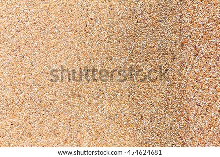 Small sand stone wall texture background for design with copy space for text or image.