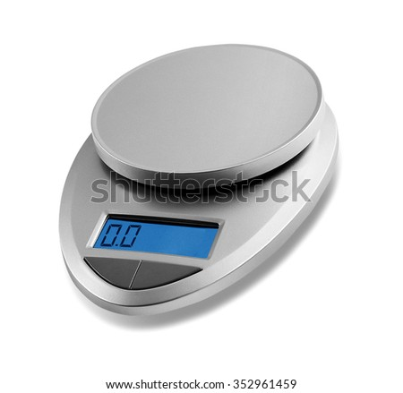 small scale isolated - stock photo