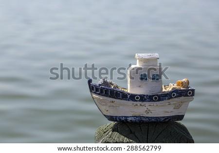 Small Ship - stock photo