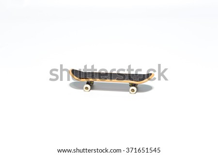 Small skateboard toy
