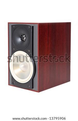 Small Speaker - stock photo