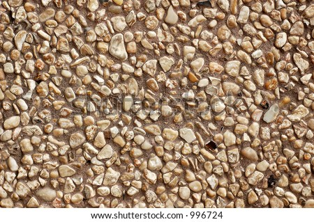 Small stone wall background