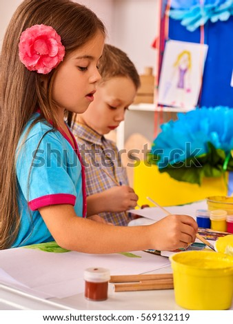 Student Painting Stock Images Royalty Free Images