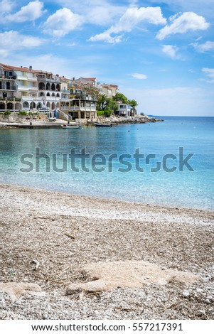 Small village Milna on Hvar island - Croatia