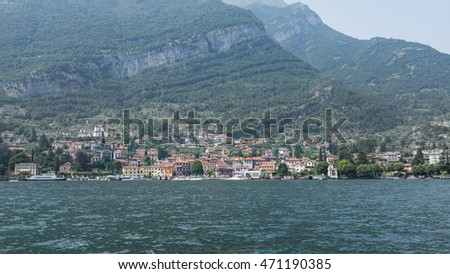 Small village of Varenna, Lake Como, Italy
