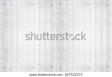Small Vintage Vertical White Wood Texture Background - stock photo