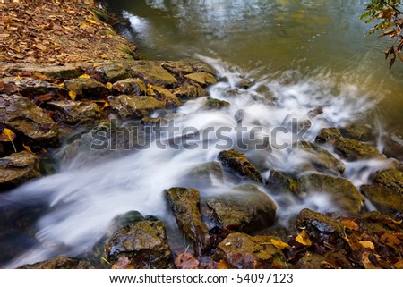 Small water stream