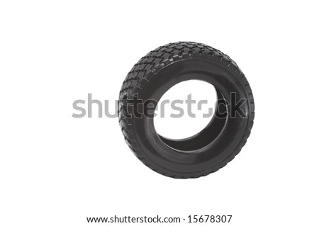 Small Wheel isolated on white