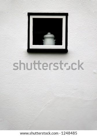 Small window - stock photo