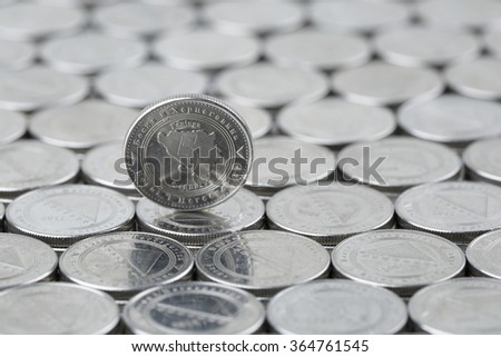 Smallest currency of Bosnia and Herzegovina - stock photo