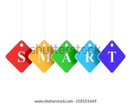 Smart - stock photo
