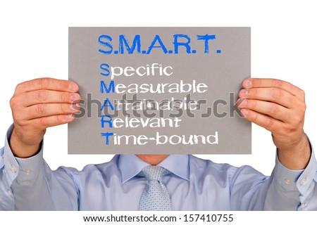 SMART - Business Goals - stock photo