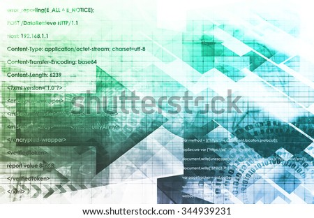 Smart Devices and Machines Technology Trend Abstract