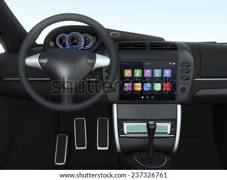 Dashboard Radio Stock Images RoyaltyFree Images Vectors - Car image sign of dashboardcar dashboard sign multifunction display stock photo royalty