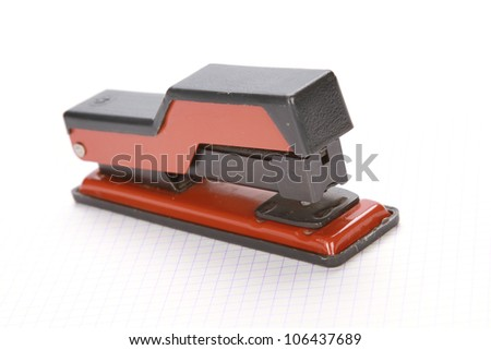 smart phone on white background Phones screen includes clipping path - stock photo