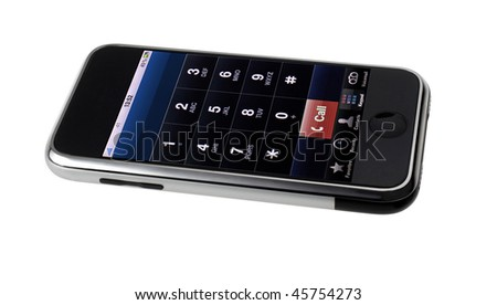 smart phone phone - stock photo