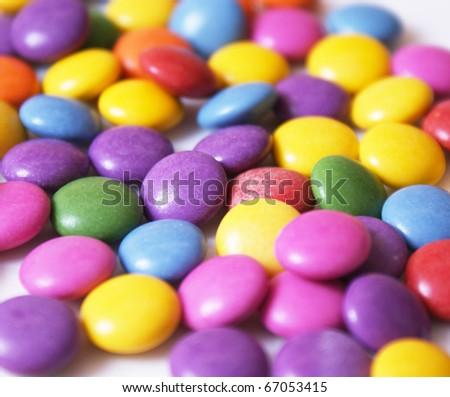 Smarties - stock photo