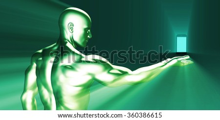 Smartphone Innovation on the Internet as Concept - stock photo