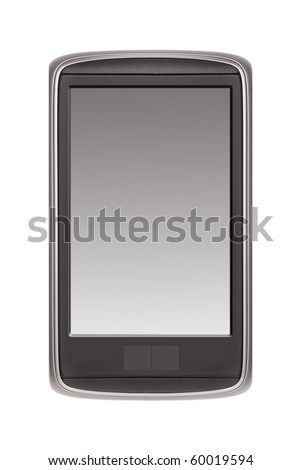 Smartphone isolated on white (original design)
