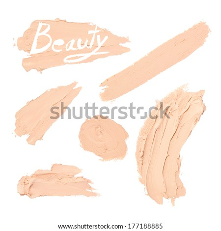 smear cream - stock photo