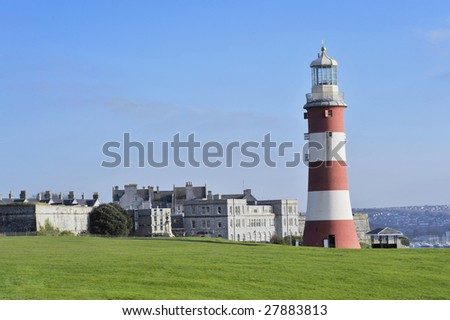 Smeatons tower, Plymouth, UK.