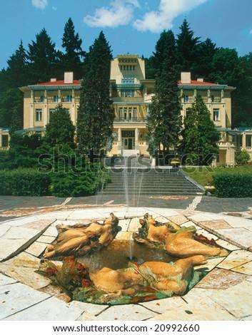 Czechoslovakia Famous Spa Bath